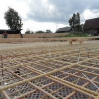 заливка бетонных площадок композитная арматура