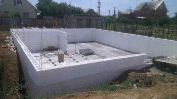 Использование стеклопластиковой арматуры при возведении «теплого дома».